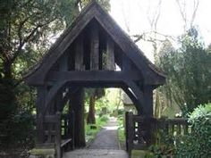 modern lych gate - Bing images
