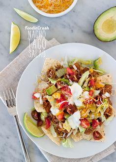 Nacho Taco Salad & Kid-Friendly Veggie Sneak Attack Recipes