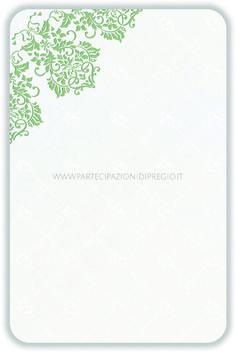 Letterpress wedding invitation - dimensione: 17 x 11 - forma: Rettangolare angoli arrotondati - carta: Gmund Cotton - Max White - 300, 600, 900 gr. - linea: trama - modello: fregio Andrea angolare ver. 1 - lavorazione press: trama