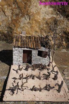 Firewood, Christmas Crafts, Mini Houses, Daycares, Waterfalls, Miniatures, Tejidos, Births, Miniature Christmas