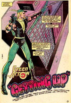 Green Arrow Appearing In DETECTIVE COMICS #527 (June 1983)