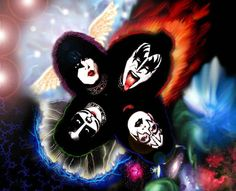 I named my daughter Shandi.Kiss was my youth. Best Rock Bands, Cool Bands, Los Kiss, Kiss World, Detroit Rock City, Kiss Me Love, Los Rolling Stones, Band Wallpapers, Wallpapers Android