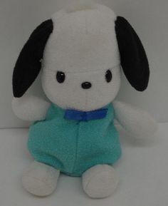 "Pochacco Dog Plush SANRIO Hello Kitty 1996 Mini Bean Bag 5"" #Sanrio http://stores.ebay.com/Lost-Loves-Toy-Chest/_i.html?image2.x=0&image2.y=0&_nkw=sanrio"