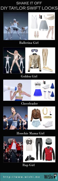 You must have watched the MV Shake It Off of Taylor Swift. She did an amazing job in that video and apparently, her outfits were all awesome. Here are some ideas based on her inspiration. #shakeitoff #taylorswift