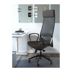 MARKUS Swivel chair - Vissle dark gray - IKEA