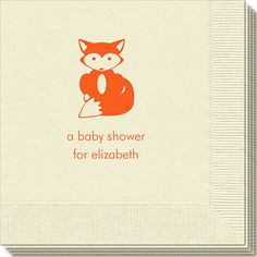 Little Fox Napkins