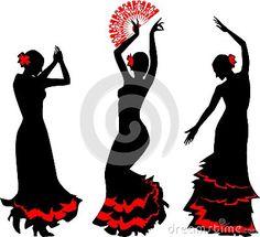 sevillanas bailando dibujos - Buscar con Google