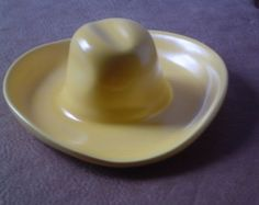 53a017dd56d Padre Pottery cowboy hat ashtray Desert Homes