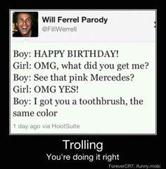 Trolling....