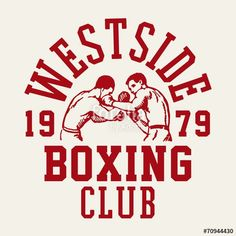 Points You Should Know Prior To Obtaining Bouquets Vettoriale: Westside Boxing Club Self Branding, Branding Design, Logo Design, Vintage Logo, Vintage Graphic Design, Boxe Fight, Boxing Posters, Boxing Club, Badge Design