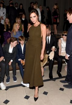 Pin for Later: Last Night's Burberry Show Was About So Much More Than the Runway Victoria Beckham