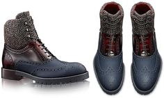 These days, high-end fashion is all about mixing and blending different materials to deliver a trend-setting outcome. Louis Vuitton has worked on the same theory to unveil a new Fall 2014 shoe collection for men. In an attempt to help style-conscious men to put their best foot forward but with a twist, the French fashion house has …