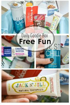 Join Daily Goodie Box for FREE! Just try & review! #ad