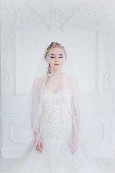 """""""Die Eiskönigin"""" inspirierte Winterhochzeit von maybloom events und Nadia Meli"""