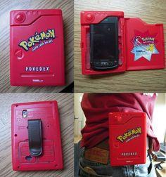 U just need an old toy Pokedex and scrape out materials! Pokemon Pokedex, O Pokemon, Random Pokemon, Pikachu, Cool Phone Cases, Iphone Cases, Pokemon Craft, Pokemon Gifts, Nerd Herd