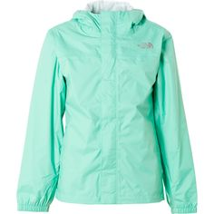mint green north face