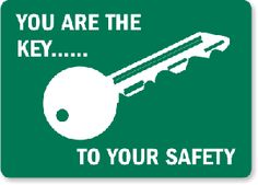 Our classroom safety slogan for this year.  No taking, my partners in crime :)