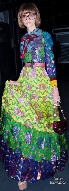 Gucci SS2016 Women's Fashion RTW (backstage) | Purely Inspiration