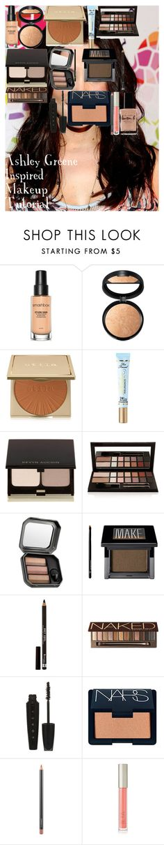 """""""Ashley Greene Inspired Makeup Tutorial"""" by oroartye-1 on Polyvore featuring beauty, Smashbox, Laura Geller, Stila, Too Faced Cosmetics, Kevyn Aucoin, Benefit, Make, Rimmel and Urban Decay"""