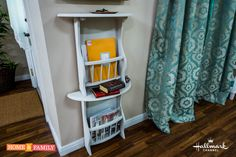 Trying to utilize small spaces in your home? Daniel Kucan creates a Stacked Side Table to do just that! Catch #HomeAndFamily weekdays at 10/9c on Hallmark Channel!
