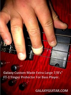 Galaxy Guitar Products USA- Leader in Professional Finger Protectors For Serious Musicians. Bass Players- we got you covered as well! Guitar Fingers, Guitar Rack, Unique Guitars, Racking System, Guitar Accessories, Photo Credit, Robin, Bass, Musicians