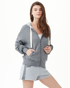 Keep warm and styled with this ultra-soft hoodie.