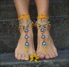 BAREFOOT SANDALS - Gabriela Pomplova