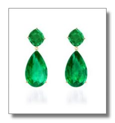 Emerald earrings. Birthday Present please :)