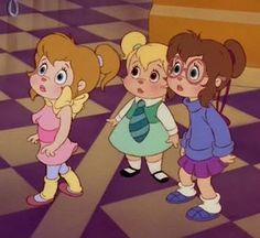 The Chipettes photo Drawing Cartoon Characters, Cartoon Icons, Cartoon Drawings, The Chipettes, Disney Princesses And Princes, Alvin And The Chipmunks, Turner Classic Movies, Childhood Movies, Cute Art Styles
