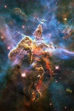 Starbirth in the Carina Nebula