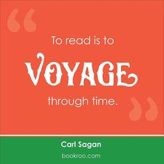 """#question """"To read is to voyage through time. """" What time from a book would you most like to visit? . . . #quote #quotes #comment #comments  #quoteoftheday #life #instagood #instadaily #true #word #Bookroo #InvestInTheirFuture #kidlit #toddlerreads #books #read #reading #reader #author #bookworm #literature #literate #kids #babies"""