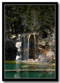 hanging lake in Colorado. sooo beautiful. I wonder how close this is to Cody