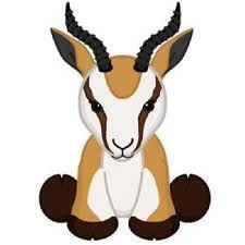 Resultado de imagen de animal springbok