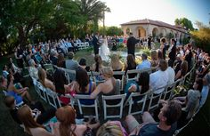 Cool idea for your wedding ceremony = circle ceremony!
