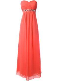 Fiesta Formals Long Elegant Gem Empire Waist Evening Prom Formal Bridesmaid Dress for only $59.00 You save: $80.95 (58%)