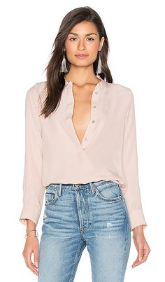 Shop for amour vert Mina Blouse in Blush Pink at REVOLVE. Free 2-3 day shipping and returns, 30 day price match guarantee.