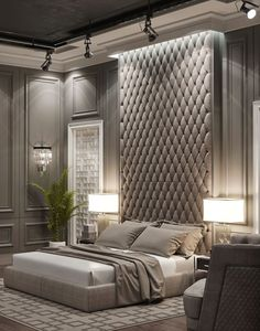 Nightstands, beds, side tables, cabinets or armchairs are some of the luxury bedroom furniture tips that you can find. Every detail matters when we are decorating our master bedroom, right? Luxury Bedroom Furniture, Master Bedroom Interior, Luxury Bedroom Design, Bedroom Bed Design, Furniture Showroom, Luxury Home Decor, Home Decor Bedroom, Cheap Home Decor, Bedroom Ideas