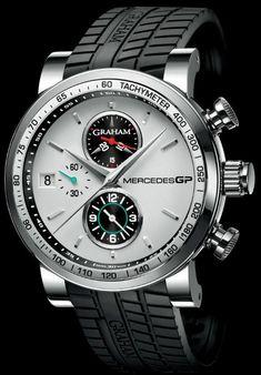 Graham Mercedes GP Trackmaster & Silverstone Chronograph Watches