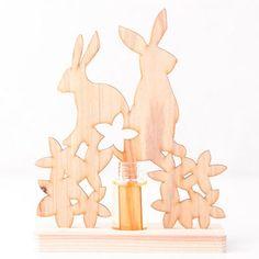 何てキュート…!!新・アロマディフューザー。【Animal Aroma Rabbit (ウサギ )flower I】