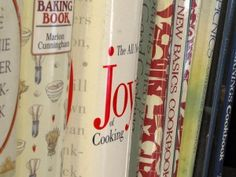Creative Storage Solutions And Home Organization Wall Of Fame Baking Cookbooks, Best Cookbooks, Joy Of Cooking, Cooking Tools, Home Organization Wall, Mississippi Roast, Ode To Joy, Cookery Books, Creative Storage