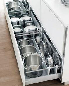 modelos-cocinas-practicos-facil-acceso-cajones (25) | Curso de organizacion de hogar aprenda a ser organizado en poco tiempo