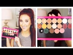 Review and swatches of the Makeup Geek eyeshadows by Jaclyn Hill!