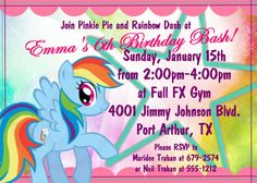 My Little Pony Girls Birthday Party