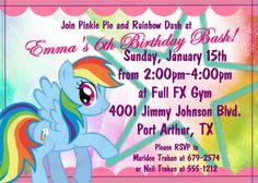 My Little Pony Girls Birthday Party