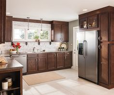 oak kitchen cabinets aristokraft cabinetry kitchen cabinet oakland ...