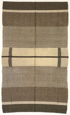 Anni Albers, Wallhanging, 1924, Cotton and Silk.  ___ JAAF: 1994. (66.25 x 39.5 inches) __   ©2007 The Josef and Anni Albers Foundation / Artists Rights Society (ARS), New York