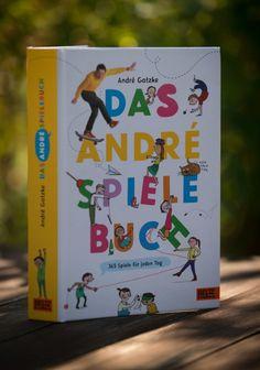 André Andre Gatzke Das Andre Spiele Buch Spielebuch Ergotherapie Beltz Gelberg Marlen Mauermann Tine Schulz KIKA Moderator Hörcompany Hörbuch