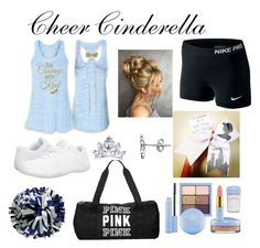 Cheer Cinderella by caidrae05 on Polyvore featuring polyvore moda style NIKE Disney Victoria's Secret Chassè fashion clothing