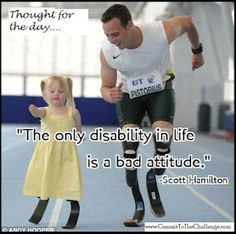 it's all in your attitude! No excuses!