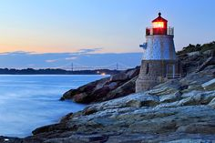 """Castle Hill Dusk,"" Newport, RI."